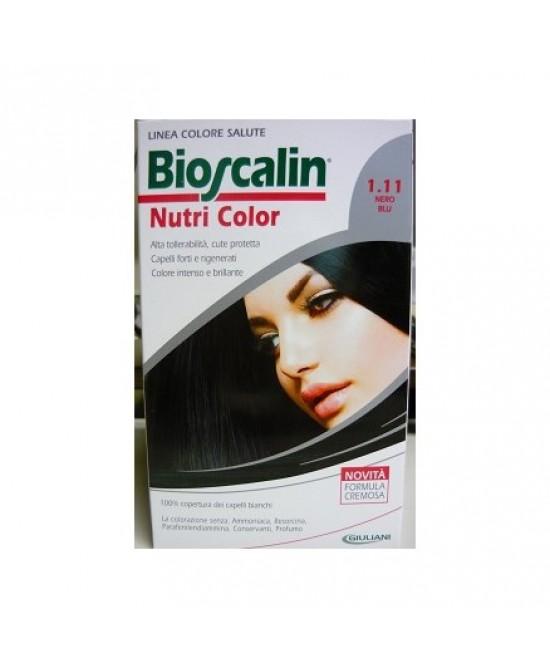 Bioscalin Nutricolor 1.11 Nero Blu - La tua farmacia online