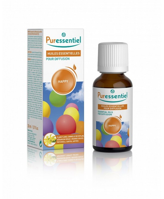 Puressentiel Diffusione Miscela Happy 30ml - Farmaciaempatica.it