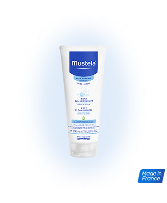Mustela 2 In 1 Gel Detergente 200ml - Farmastar.it