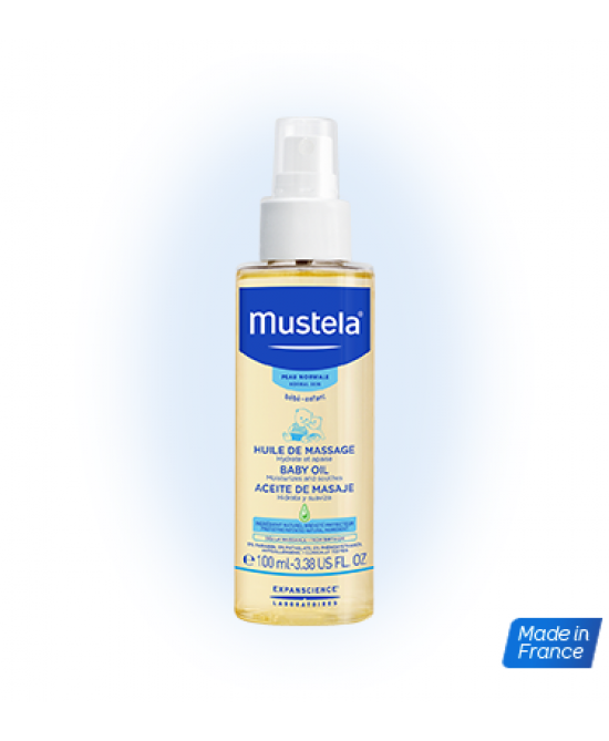 MUSTELA OLIO IDRATANTE MASSAGG - Farmajoy