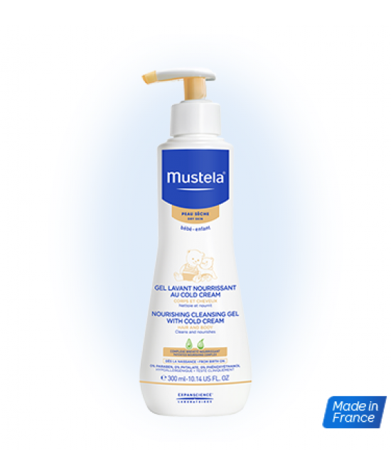 Mustela Gel Lavante Nourissant Au Cold Cream 300ml - Farmacistaclick
