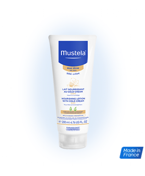 Mustela Latte Nutriente Alla Cold Cream 200ml - Farmastar.it