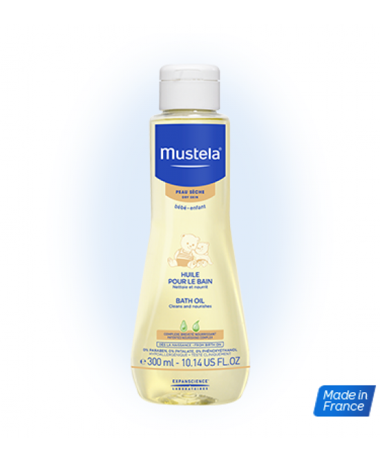 Mustela Olio Bagno 300ml - Farmastar.it