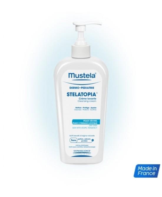 Mustela Stelatopia Crema Detergente 500ml - FARMAEMPORIO