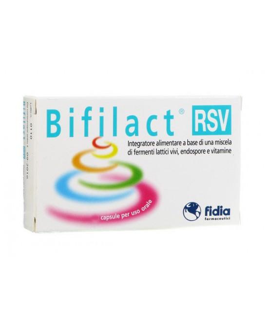 Fidia Bifilact Rsv Integratore Alimentare 30 Capsule - Farmacia Giotti