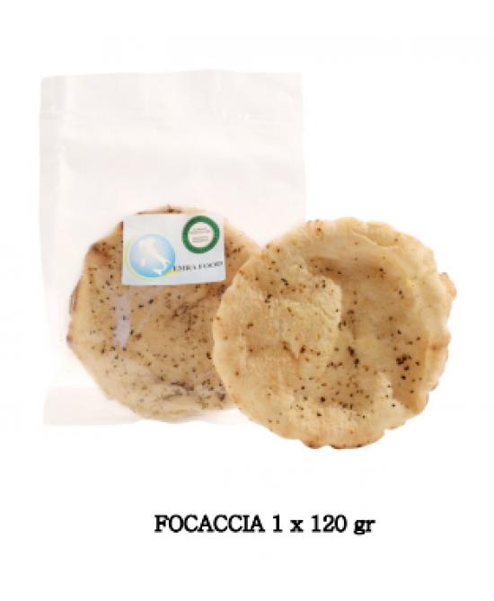 Emra Food Focaccia Con Origano Senza Glutine Senza Lattosio 120g - FARMAPRIME