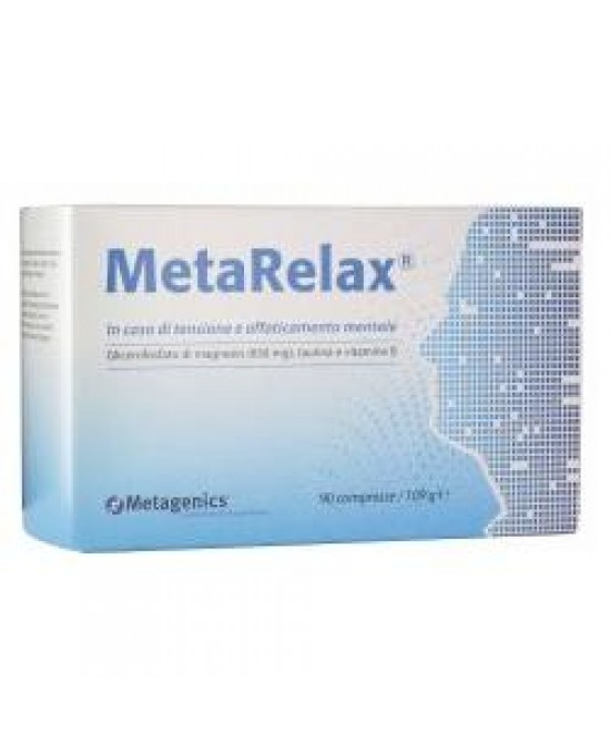MetaRelax New Integratore Alimentare 45 Compresse - Farmafamily.it