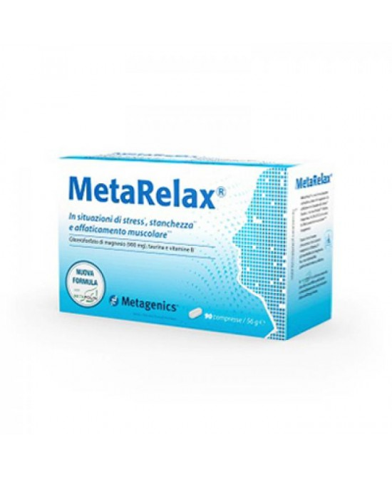 Metarelax New Integratore Alimentare 20 Bustine - Farmawing