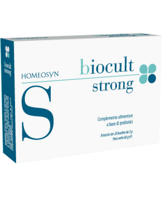 Biocult Strong Integratore 20 Bustine