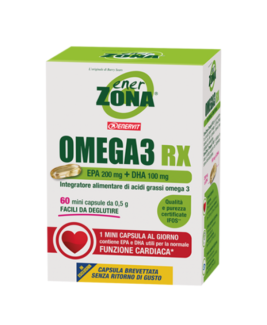 Enerzona Omega3 RX 60 Minicapsule - Sempredisponibile.it