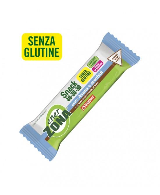 EnerZona Enervit Snack 40-30-30 Avena E Arachidi Senza Glutine 23g - La farmacia digitale