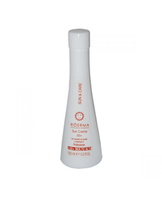 Riderma Sun&Care Crema Solare SPF 50+ 150ml