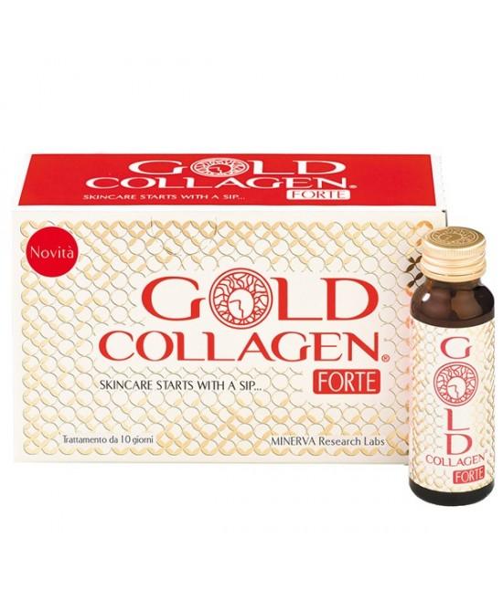 GOLD COLLAGEN FORTE 10 FLACONI - Farmacia 33