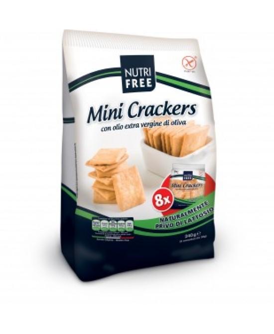 NutriFree Mini Crackers senza Glutine 8 x 30g