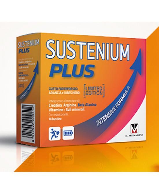Menarini Sustenium Plus Limited Edition Integratore Alimentare 14 Bustine