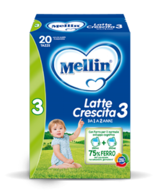 Mellin 3 Latte Crescita Polvere 700g - Farmabros.it