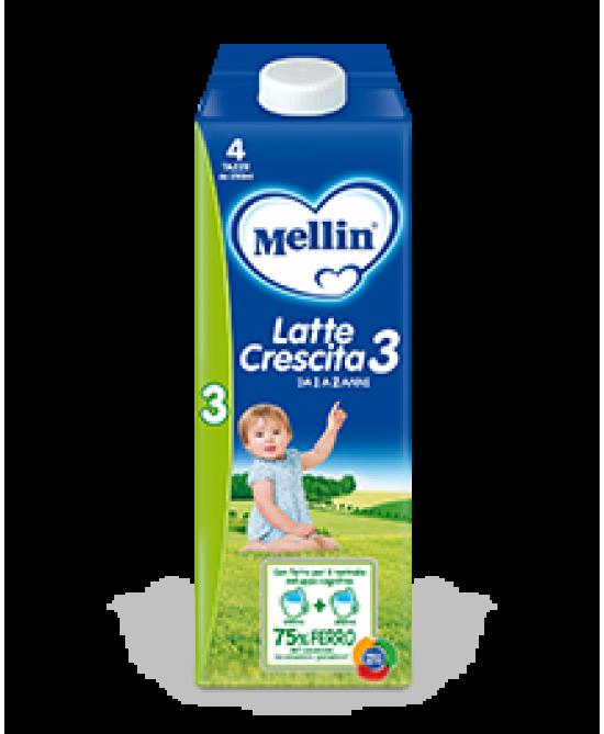 Mellin Latte Crescita 3 Liquido 500ml - Farmacia 33