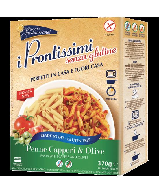 Piaceri Mediterranei Penne Capperi & Olive Senza Glutine 370g