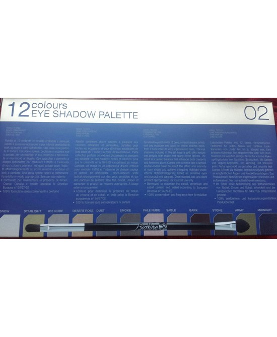 Bionike Defence Color 02 12 Colors Shadow Eye Palette Natale 2016 - Carafarmacia.it