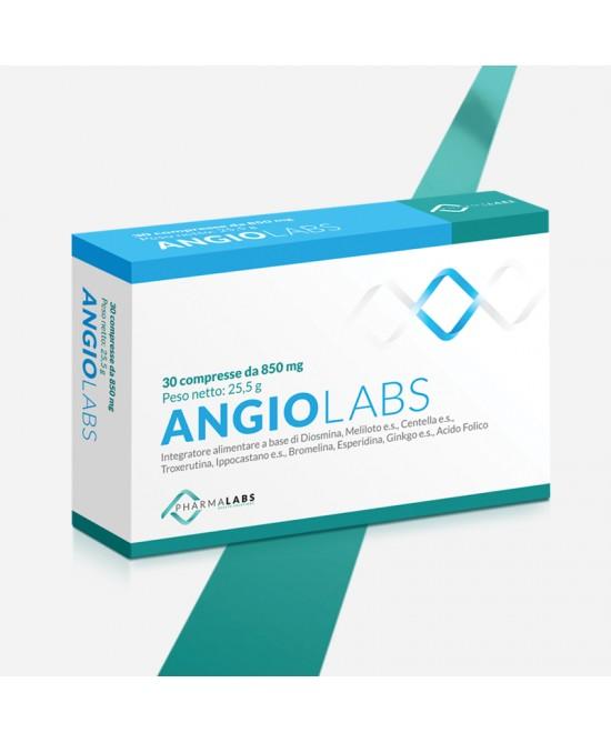 Pharma Labs Angiolabs Integratore Alimentare 30 Compresse - Farmastar.it