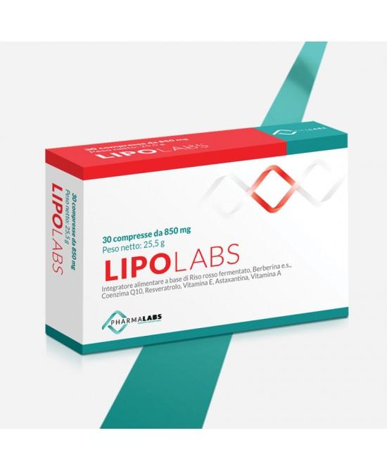 Lipolabs Integratore Per Il Colesterolo 30 Compresse