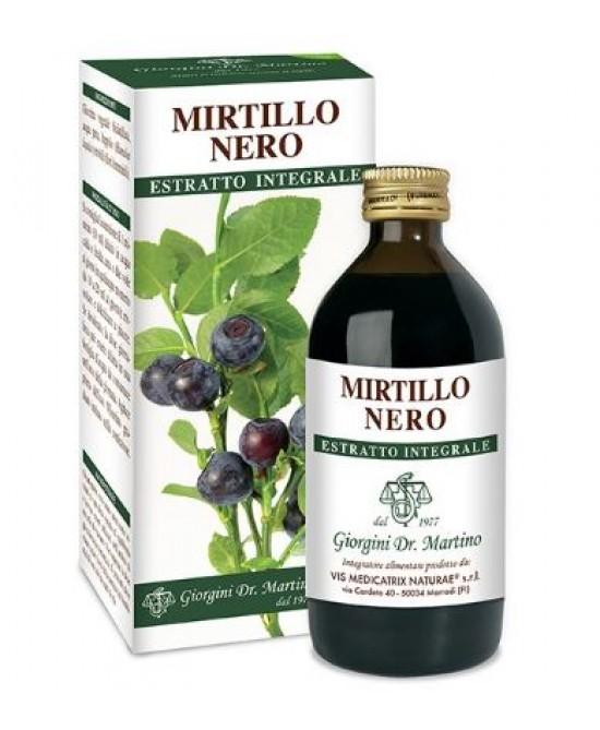 Dr. Giorgini Mirtillo Nero Estratto Integrale 200ml - Farmafamily.it