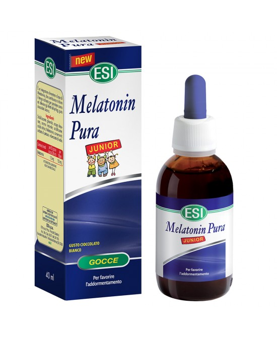 Melatonin Pura Junior Gocce Integratore Alimentare 40ml - Iltuobenessereonline.it