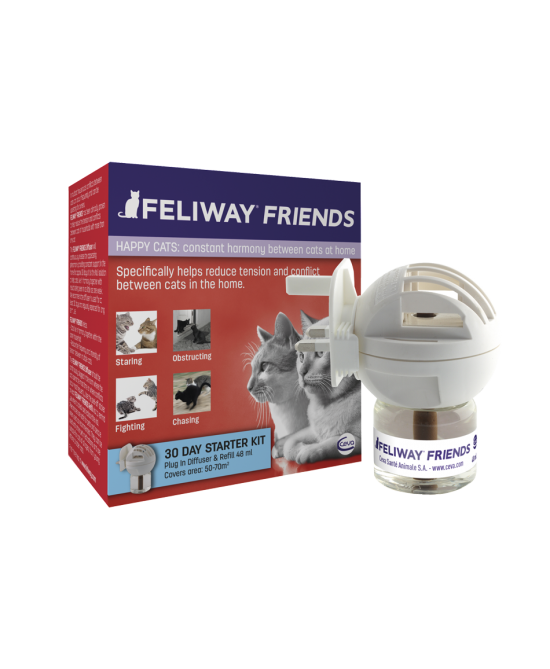 Ceva Feliway Friends Diffusore Con Ricarica 48ml - Farmapage.it