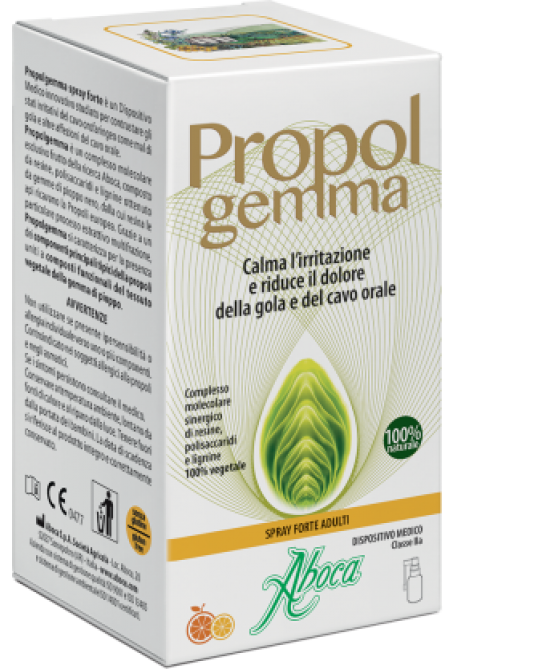 Aboca Propolgemma Spray Forte 30ml - Farmaciaempatica.it