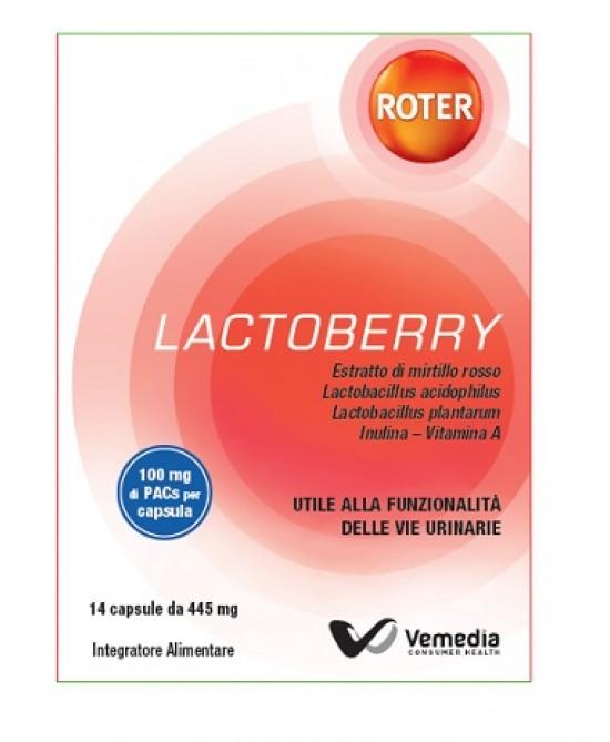 Roter Lactoberry Integratore Alimentare 14 Capsule