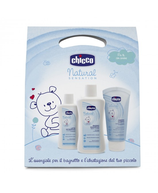 CHICCO COSM NAT SENS TRIAL SET - latuafarmaciaonline.it