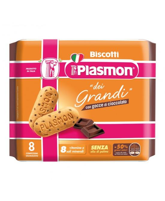 Plasmon Biscotto Dei Grandi Con Gocce Di Cioccolato 8 Pezzi - Farmafamily.it