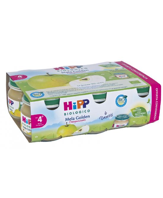 HiPP Omogeneizzato Mela Golden  Multipack 6x80g - Farmajoy