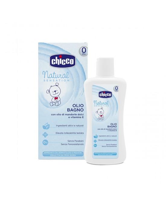 Chicco Natural Sensation Olio Bagno 100ml - Farmafamily.it