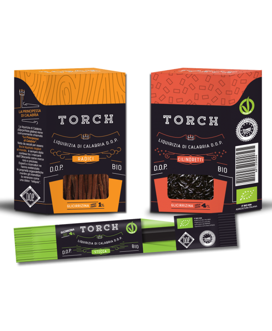 Torch Liquirizia Cilindretti Biologico 20g - Farmapage.it