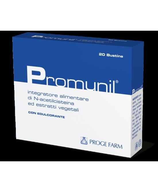 PROMUNIL 20 BUSTINE - sapofarma.it