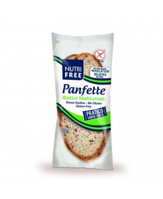 Nutrifree Panfette Rustico Multicereale Senza Glutine 80g - Farmapc.it
