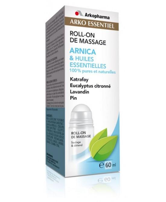 Arko Essentiel Roll-On Massaggio Arnica E Oli Essenziali 60ml