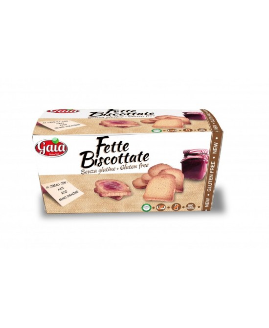 Gaia Fette Biscottate Integrali Senza Glutine 200g - FARMAPRIME
