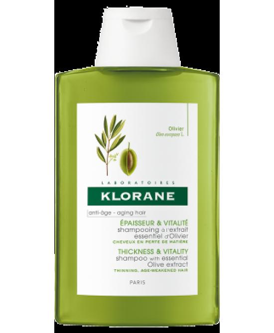 Klorane Shampoo All' Estratto Di Ulivo 400ml - Farmabellezza.it