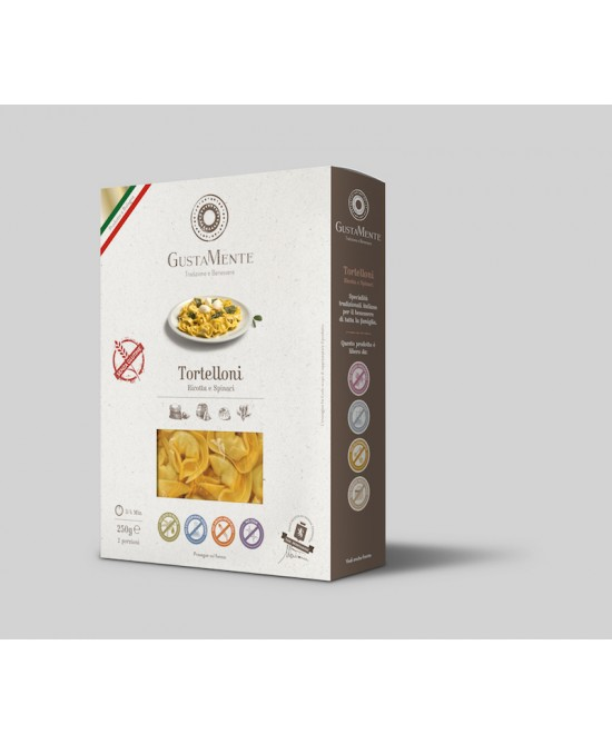 GiustaMente Tortelloni Aceto Balsamico E Parmigiano Reggiano Senza Glutine 250g
