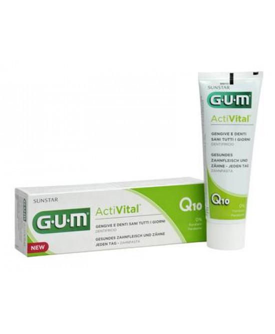 Gum ActiVital Dentifricio Gel 75ml - Iltuobenessereonline.it