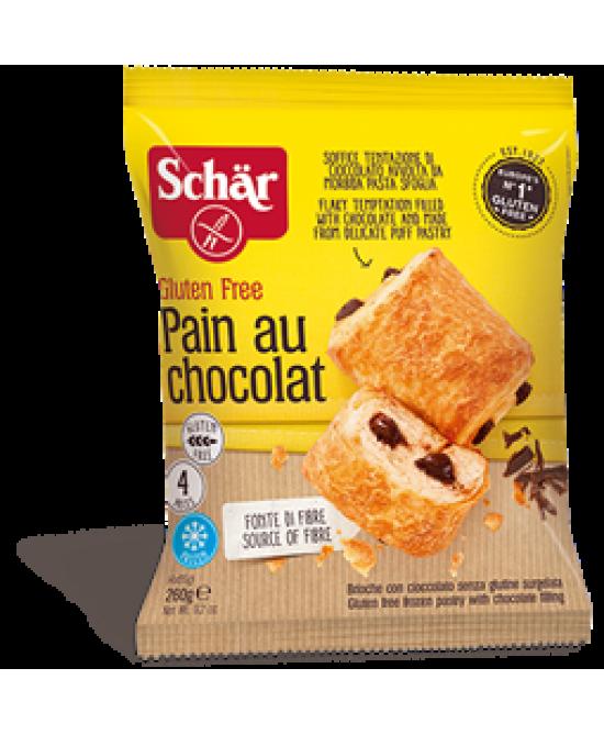 Schar Pain Au Chocolat Senza Glutine 4x65g
