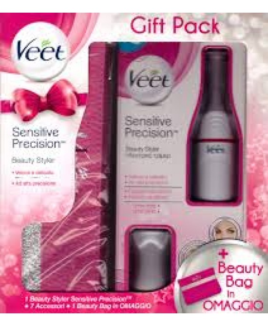 Veet Sensitive Precision Beauty Styler + Beauty Bag in Omaggio - Farmaunclick.it