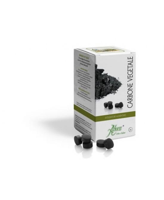 Aboca Carbone Vegetale Attivo Integratore Alimentare 90 Compresse - La farmacia digitale