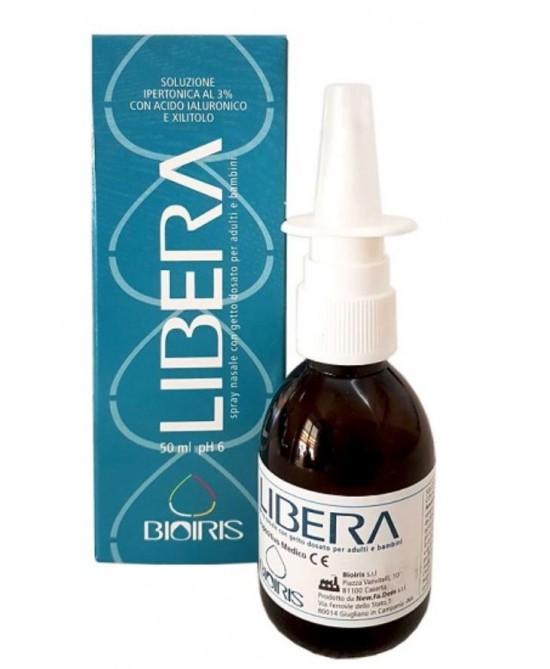 Libera Spray Nasale Soluzione Ipertonica 50ml - FARMAEMPORIO