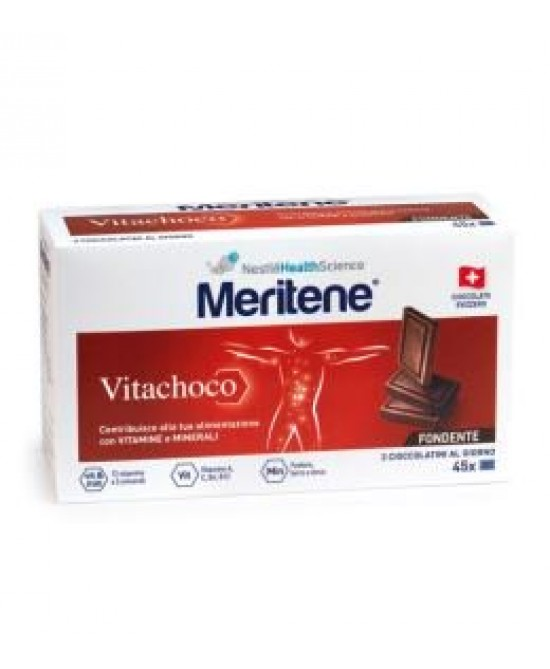 Meritene Vitachoco Fondente 75g - Farmafamily.it