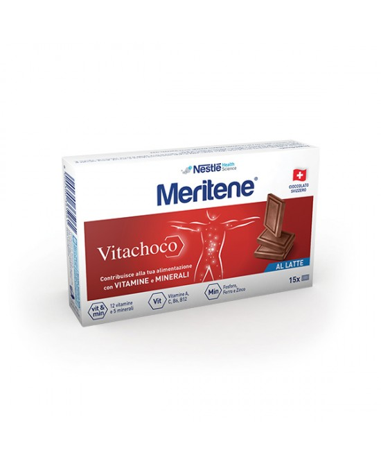 Meritene Vitachoco Cioccolatini Multivitaminici Al Latte 75g - Farmafamily.it