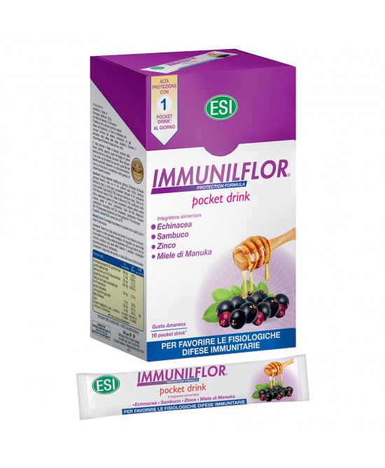 ImmunilFlor Integratore Alimentare 16 Pocket Drink - Farmapc.it