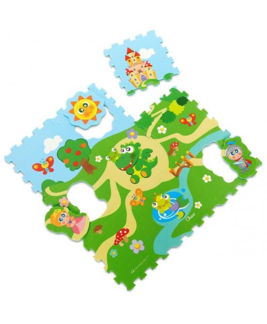 Chicco Gioco Tappeto Puzzle Castello - Farmafamily.it